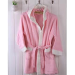 AngelDream安歌吉姆竹纤维儿童浴袍粉色AGZD6A-P