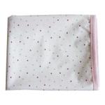 婴妮儿 竹纤维婴儿隔尿垫 新生用品 大号/粉色点点