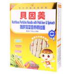 贝因美猪肝菠菜营养颗粒面232g(6个月以上)