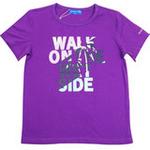红蜻蜓缤纷海岛系列短袖T恤52720361紫色/140