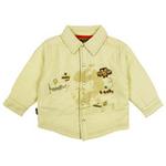 E-baby如意宝贝探险小英雄保暖衬衫E115154米白/90