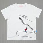 红蜻蜓花园系列短袖T恤52720379白色/150