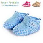 babybubbles休闲系列婴童鞋029-9066-123浅蓝/17