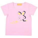 红蜻蜓摩登田园系列短袖T恤52720499粉红色/170