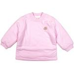 E-baby如意宝贝滑冰派克保暖半高领上衣E115143浅粉/73