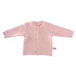 琪凯宝宝婴儿加厚保暖长袖开衫115069浅粉92cm