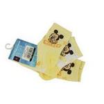 Disney迪士尼米奇/米妮三件组宝宝/儿童袜(三双装)黄色 12/14cm