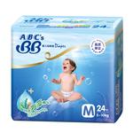 ABC's BB纸尿裤中号24片