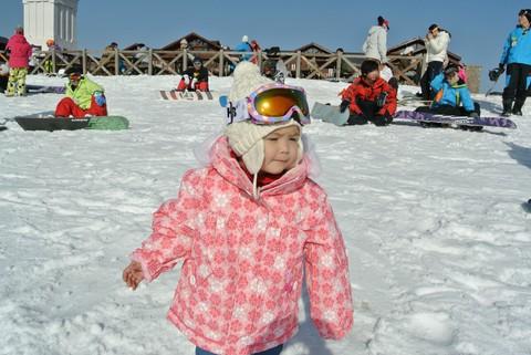 第一次带宝宝一起滑雪 - 豆豆 - 豆豆 (原创)BLOG