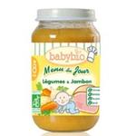 法国Babybio有机田园蔬菜火腿泥