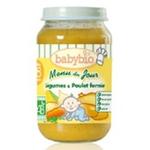 法国Babybio有机蔬菜鸡肉泥