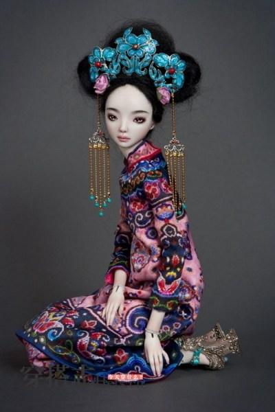 贵的陶瓷娃娃 服装设计超越芭比