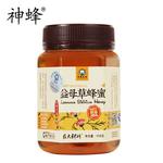 神蜂纯天然0添加益母草蜂蜜458G