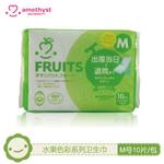 水果系列卫生巾 M号(10片装)