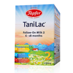 TaniLac®特福芬阿尔高较大婴儿和幼儿配方奶粉2段600g
