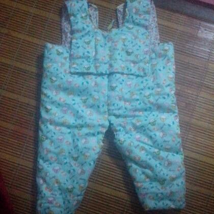 纯手工婴儿棉袄棉裤 价格根据衣服的大小