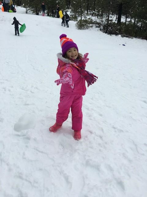 """带娃儿们去看""""雪"""" - 豆豆 - 豆豆 (原创)BLOG"""