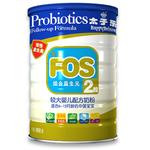 金装FOS较大婴儿配方奶粉(二段)